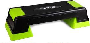 Aeroobika astmelaud Zipro, must/roheline hind ja info | Stepipingid | kaup24.ee