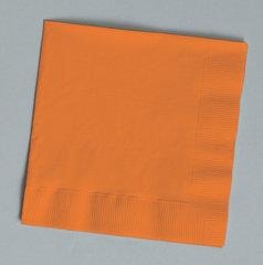 Салфетки, оранжевые - 20 шт.