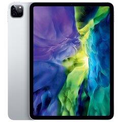 "Apple iPad Pro 11"" (2020) Wi‑Fi+4G 128GB, Hõbedane, 2nd gen, MY2W2HC/A hind ja info | Tahvelarvutid | kaup24.ee"