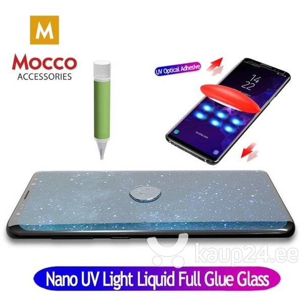 Mocco UV 9H Tempered Glass Full Cover + Eco Glue + Lamp For Samsung Galaxy S20 Ultra, Läbipaistev tagasiside