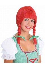 Pipi parukas hind ja info | Karnevali kostüümid | kaup24.ee
