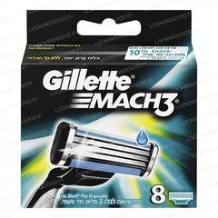 Gillette Mach3 8tk varuterad hind ja info | Raseerimisvahendid | kaup24.ee