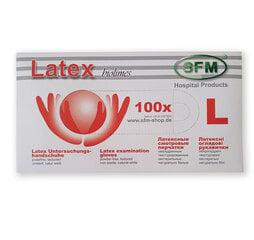 Ühekordsed latekskindad 100 tk, suurus L hind ja info | Esmaabi | kaup24.ee