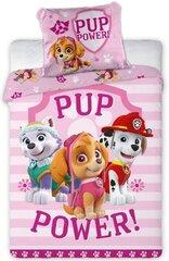 Laste voodipesukomplekt Paw Patrol 140x200, 2-osaline hind ja info | Voodipesu lastele ja imikutele | kaup24.ee