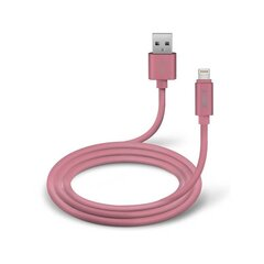 Lightning Data Cable And Cgarher Polo Collection 1m By SBS Pink hind ja info | Lightning Data Cable And Cgarher Polo Collection 1m By SBS Pink | kaup24.ee