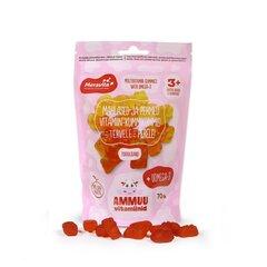 Meravita AMMUU vitamiinid+oomega-3 lastele, roosa täitepakend N70 hind ja info | Vitamiinid ja mineraalid tervise parandamiseks | kaup24.ee