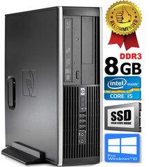 HP Compaq Elite 8100 Intel® Core™ i5-650 8GB 240GB SSD Windows 10 Professional hind ja info | HP Compaq Elite 8100 Intel® Core™ i5-650 8GB 240GB SSD Windows 10 Professional | kaup24.ee