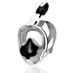 Sukeldumismask Spokey Bardo, valge/must hind ja info | Ujumismaskid | kaup24.ee