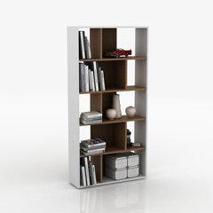 Eraldiseisev riiul Kalune Design Laurus, pruun/valge hind ja info | Riiulid | kaup24.ee