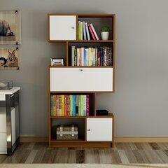 Riiul Kalune Design Tutku, valge/pruun hind ja info | Riiulid | kaup24.ee