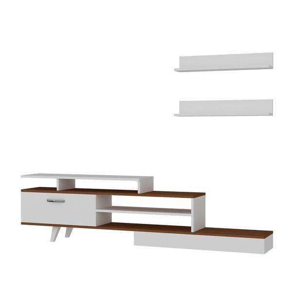 Sektsioon Kalune Design Milon, valge/pruun hind ja info | Sektsioonid | kaup24.ee
