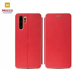 Mocco Frame Book Case For Huawei P30 Pro Red hind ja info | Mocco Frame Book Case For Huawei P30 Pro Red | kaup24.ee