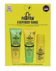 Komplekt Dr. Paw Paw Everybody Range: Šampoon 250 ml + palsam 250 ml + juuksesprei 150 ml hind ja info | Šampoonid | kaup24.ee