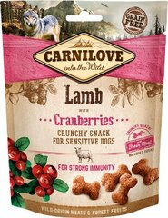 Koerte maius Carnilove Dog Lamb with Cranberries , 200 g hind ja info | Koerte maius Carnilove Dog Lamb with Cranberries , 200 g | kaup24.ee