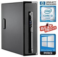 HP 400 G1 SFF i3-4130 4GB 120SSD+500GB DVDRW WIN10Pro hind ja info | Lauaarvutid | kaup24.ee