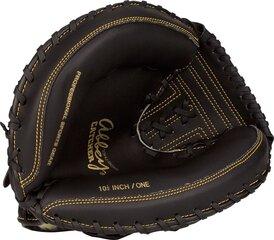 Бейсбольная перчатка Abbey 23HU, черная цена и информация | Товары для игры в бейсбол | kaup24.ee