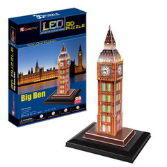 3D Pusle CubiFun Big Ben LED, 28 osa