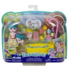 Enchantimals pikniku, peoõhtu või pidžaamapeo mängukomplekt hind ja info | Tüdrukute mänguasjad | kaup24.ee