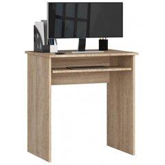 Kirjutuslaud NORE Star, tamme värv hind ja info | Arvutilauad, kirjutuslauad | kaup24.ee