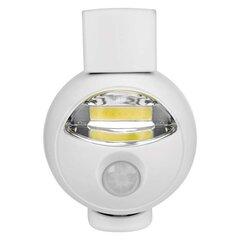 COB LED öölamp liikumisanduriga valge hind ja info | Aia- ja õuevalgustid | kaup24.ee