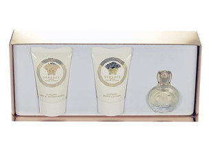 Komplekt Versace Eros Pour Femme: EDP naistele 5 ml + dušigeel 25 ml + kehalosjoon 25 ml