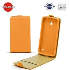 Чехол Telone Shine Pocket Slim Flip Case skirtas Samsung Galaxy S5/S5 Neo (G900/G903/G903F), Оранжевый