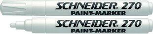 Лаковый маркер 270 Schneider, белый цена и информация | Письменные принадлежности | kaup24.ee