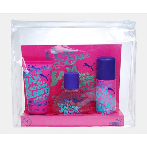 Komplekt Puma Jam Woman: EDT naistele 40 ml + dušigeel 50 ml + spreideodorant 50 ml