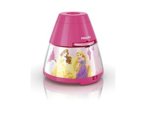 Laualamp - projektor DISNEY Princess, Philips