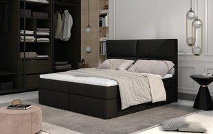 Кровать NORE Amber, 180x200 см, черная цена и информация | Кровать NORE Amber, 180x200 см, черная | kaup24.ee