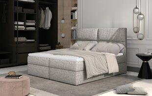 Кровать NORE Amber, 160x200 см, серый гобелен цена и информация | Кровать NORE Amber, 160x200 см, серый гобелен | kaup24.ee