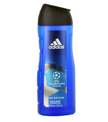 Dušigeel Adidas UEFA Champions League Star Edition meestele 400 ml