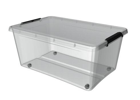 Hoiukast ratastega Orplast 40L, Clip-kinnitused hind ja info | Hoiukastid ja pesukorvid | kaup24.ee