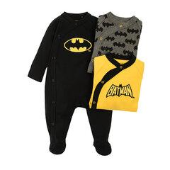 Poiste lühikesete varrukatega romper Cool Club Batman, 3 tk., LUB2100975-00 hind ja info | Poiste lühikesete varrukatega romper Cool Club Batman, 3 tk., LUB2100975-00 | kaup24.ee