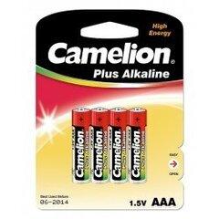 AAA tüüpi Camelion alkaline patareid, 4 tk