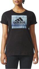 Pluus Adidas CATEGORY ATH W Black hind ja info | Adidas Naiste riided | kaup24.ee