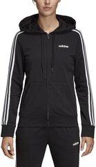 Dressipluus Adidas W E 3S Fz Hoodie Black hind ja info | Naiste pusad | kaup24.ee