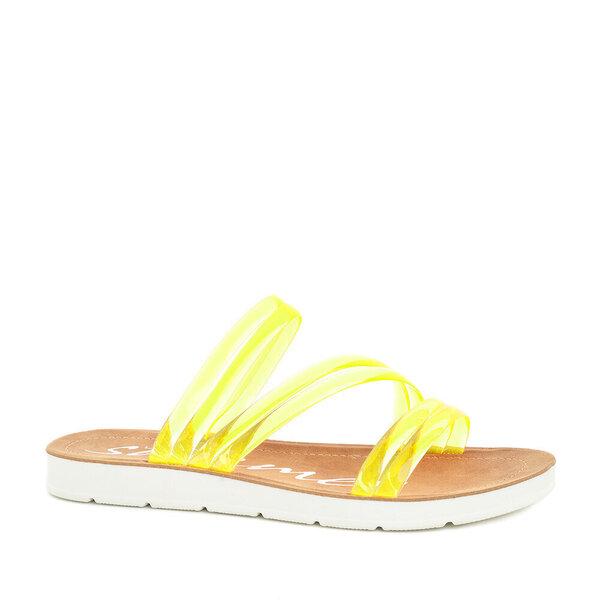Naiste lahtised jalanõud LORENZO, kollane