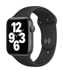Смарт-часы Apple Watch SE (GPS, 44 мм) - Space Gray Aluminium Case with Black Sport Band цена и информация | Смарт-часы (smartwatch) | kaup24.ee