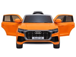 Laste ühekohaline elektriauto Audi Q8, oranž hind ja info | Elektrilised autod | kaup24.ee