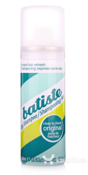 Kuivšampoon Batiste Original 50 ml