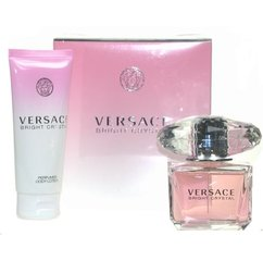 Komplekt Versace Bright Crystal: EDT naistele 90 ml + ihupiim 100 ml
