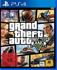 Игра GRAND THEFT AUTO V (GTA 5) PS4