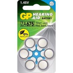 GP patarei ZA675 (PR44) hind ja info | GP patarei ZA675 (PR44) | kaup24.ee