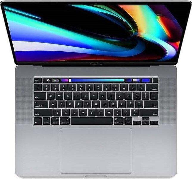 Apple MacBook Pro 16 Touch Bar: 2.6GHz i7/32GB/1TB/RP5300M - Space Grey klawiatura USA MVVJ2ZE/A/R1/D1/USA-Z0XZ001ER