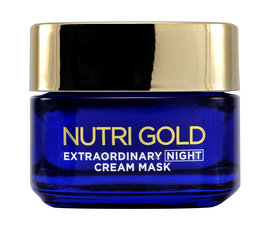 Ночной крем-маска L'Oreal Paris Nutri Gold Extraordinary 50 мл