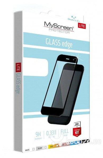 LCD kaitseklaas MyScreen Lite Edge Full Glue Huawei P20 Lite must