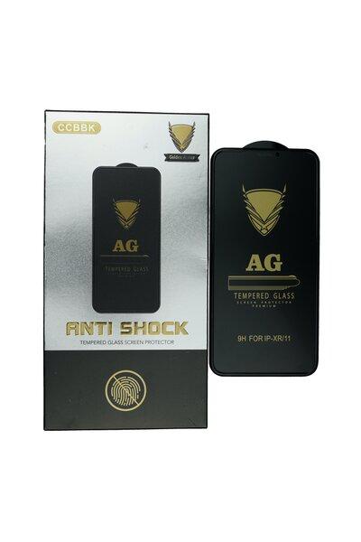 Ekraani kaitseklaas telefonile ANTI-SHOCK MATTE iPhone XR/11 Tempered glass Full Glue, Full Cover SOUNDBERRY Internetist