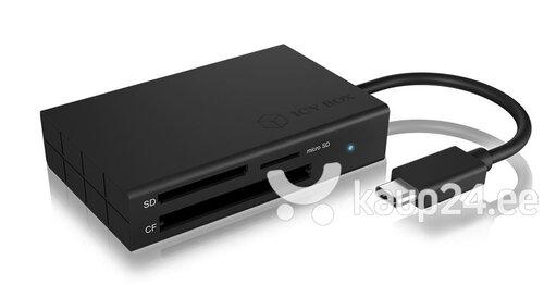 RaidSonic IB-CR401-C3 hind ja info | USB jagajad, adapterid | kaup24.ee