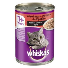 Whiskas konserv veiselihaga kastmes, 400 g